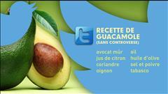 Des pois ou des avocats pour la recette de guacamole?