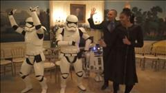 Les Obama célèbrent Star Wars Day