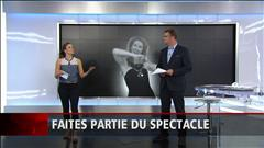 Faire partie du spectacle de Céline Dion (2015-07-05)