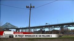 Un projet immobilier de 500 M$
