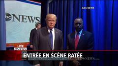 Entrée en scène ratée au débat républicain