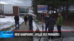Place à la primaire dans le New Hampshire (2016-02-08)