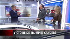 Victoire de Trump et Sanders