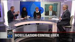 Mobilisation contre Uber
