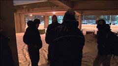 Une autre nuit glaciale pour les sans-abri de Montréal