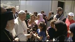 Le pape François au secours des migrants