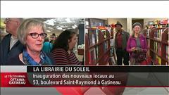 Inauguration des nouveaux locaux de la Librairie du soleil à Gatineau