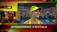 Bouchard affrontera Sharapova (2015-01-25)