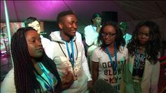 La famille Namwira au Festival du Voyageur