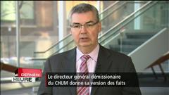 Jacques Turgeon explique sa démission