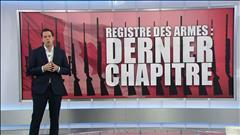 Registre des armes à feu : l'historique