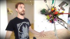 Exposition Attentat à la Maison des artistes visuels francophones