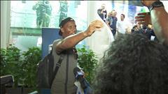 Didier Drogba arrive à Montréal dans une ambiance survoltée