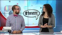 Les étudiants Marie-Eve Dubé et Joël Lefort voteront pour la première fois