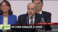 Paris climat 2015 : conférence de presse de Laurent Fabius