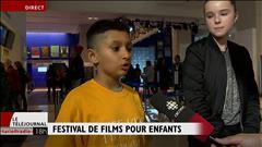 À l'ouverture du festival du film pour enfants