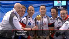 Le Canada remporte le championnat mondial de curling