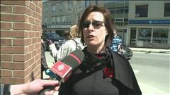 Arrestation lors d'une manifestation à Rouyn-Noranda