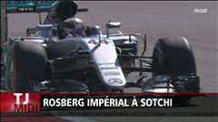 Rosberg sans rivaux à Sotchi