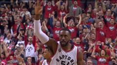 Les Raptors gagnent enfin une série