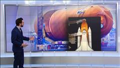 Un réservoir géant de la NASA a voyagé de la Louisiane à Los Angeles