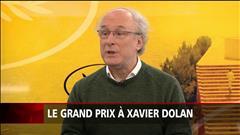 Un Grand prix qui rassure Xavier Dolan