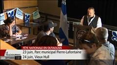 Dévoilement de la programmation des célébrations de la Saint-Jean-Baptiste en Outaouais