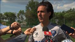 Mauro Biello parle notamment des succès de l'Impact durant les arrêts de jeu