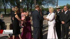 Le prince Edward et son épouse Sophie assistent au gala du théâtre Globe de Regina