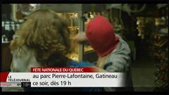 Andie Duquette en spectacle au parc Lafontaine pour l'Outaouais en fête