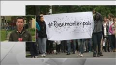 Marche pour la paix à Rosemont