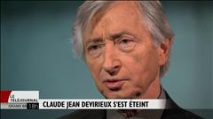 Décès de Claude Jean Derivieux