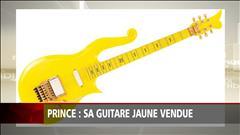 La guitare « Yellow Cloud » de Prince vendue aux enchères