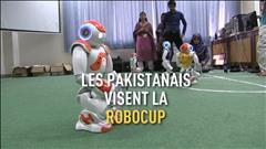 Les Pakistanais visent la RoboCup