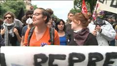 Les manifestations contre la loi travail se poursuivent en France