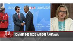 Sommet des trois leaders nord-américains