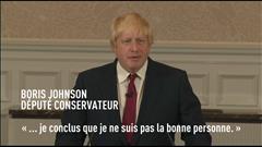 Boris Johnson renonce à succéder à David Cameron