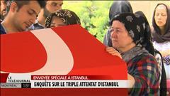 Après l'horreur, le deuil en Turquie