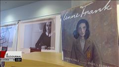 Exposition Anne Frank à la bibliothèque du Millénaire à Winnipeg. Un récit visuel de Fernand Detilleux.