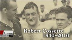 L'animateur Jean-Pierre Girard rend hommage à Robert Cossette