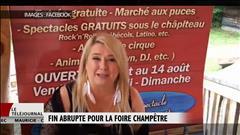 Fin abrupte pour la Foire champêtre de Nathalie Simard