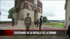 Commémoration du centenaire de la bataille de la Somme