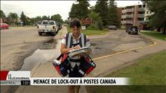 Menace de lock-out à Postes Canada