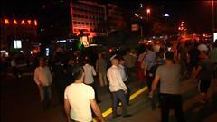Les rues de la Turquie après le coup d'État