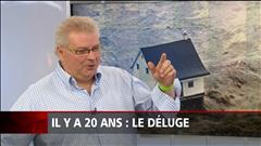 Louis Lemieux se souvient du déluge du Saguenay