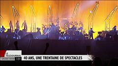 40 ans de spectacles au Stade olympique de Montréal