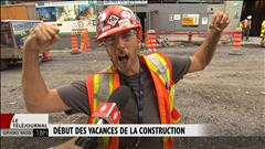 L'industrie de la construction en vacances