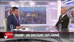 Trump: un discours enflammé