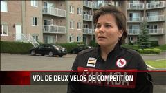 Marie-Ève Croteau se fait voler deux vélos de compétition