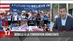Début houleux de la convention démocrate